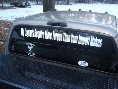 Window Decals For Trucks by Windshield Decals For Trucks Car Decals Custom Stickers