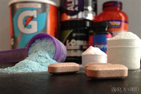diy pre pre workout the essentials no filler iron and