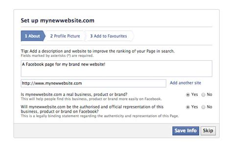 facebook themes url how to create a facebook page for your wordpress website