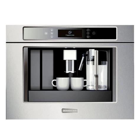 built in coffee machine from kitchen aid kitchen