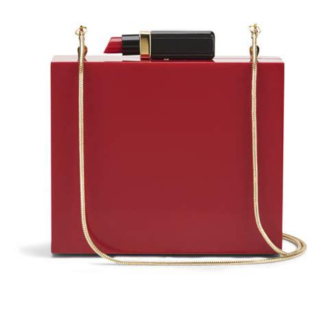 Lulu Guinness Perspex Clutch by Lulu Guinness Perspex Lipstick Box Clutch Bag