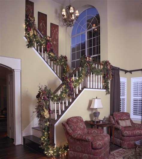 best holiday decorating ideas houzz georgetown traditional traditional staircase by hearn interior design