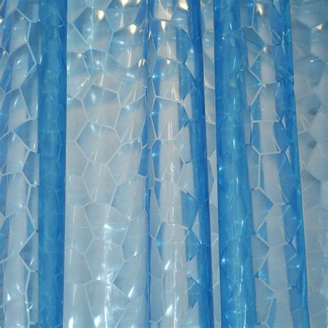 water shower curtain 3d water cube design shower curtain bathroom decor