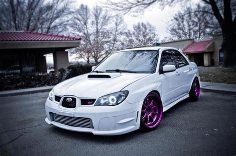 dark purple subaru white with purple rims cars pinterest subaru d and