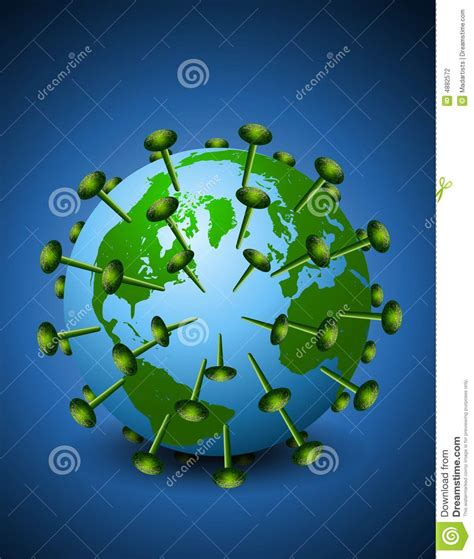 earth  hiv aids virus stock photography image