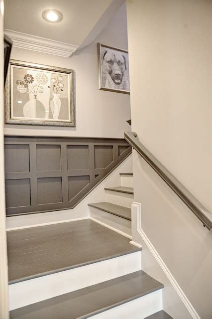 wall easy steps to create best walls color combinations before and after carpeted stairs get painted stratton