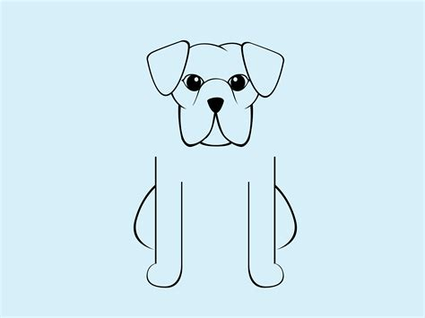 how to a boxer boxer drawing www pixshark images galleries with a bite