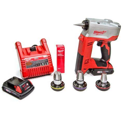 Plumbing Supply Milwaukee by 2632 22 Milwaukee 2632 22 M18 Propex Expansion Tool Kit