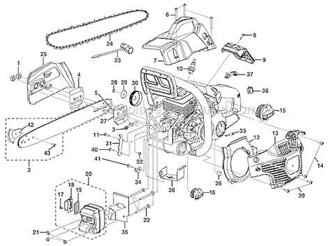 homelite 2 parts diagram homelite ut10518 parts list and diagram