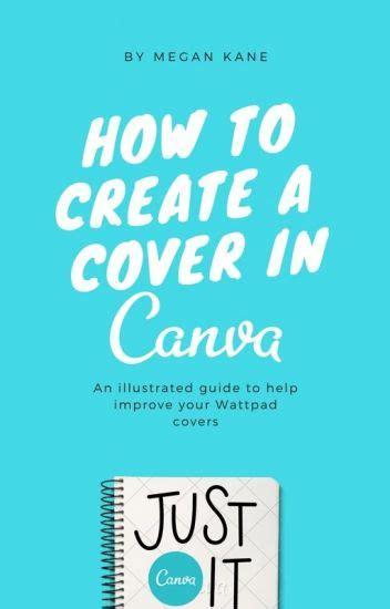 canva wattpad how to create a cover in canva megan kane wattpad