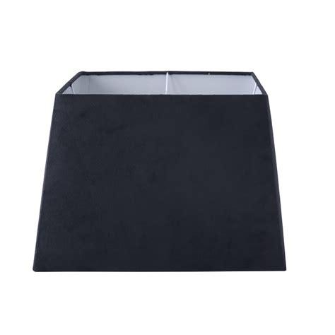 Black Square L Shades by Orbit Medium Square L Shade Black Suede Sku 00209728
