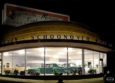213 best vintage car dealership images on