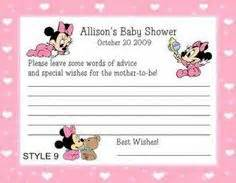 baby minnie mouse baby shower invitations marialonghi