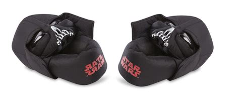 darth vader house shoes star wars youth step in slippers houseshoes yoda darth vader boba fett