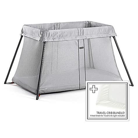most comfortable travel crib babybjorn 174 travel crib light bundle in silver buybuy baby