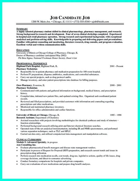 Pharmacy Resume Objective by What Objectives To Mention In Certified Pharmacy Technician Resume