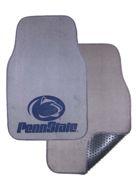 penn state floor l penn state nittany lions auto floor mat set of 2 car mats