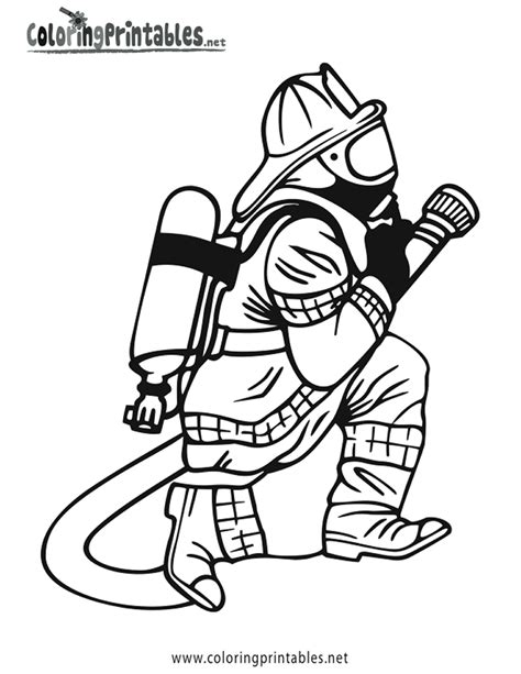 free printable vire coloring pages free fireman clipart coloring pages