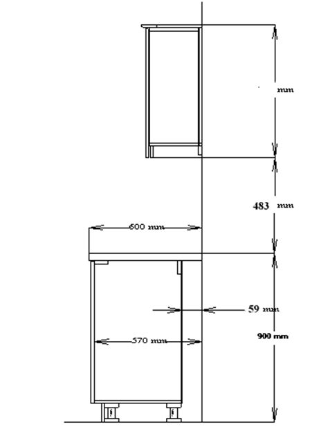 standard wall cabinet height installation manual