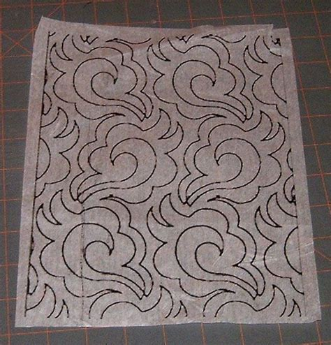 free motion quilting with freezer paper template 13 best images about methods to quilting designs