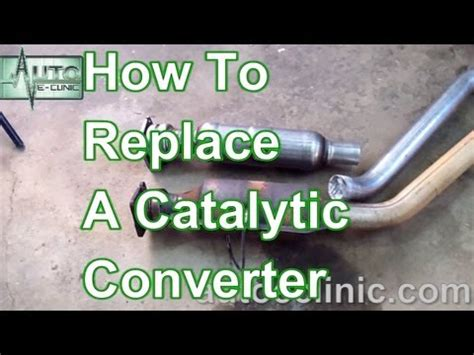 service manual how to replace converter on a 1998 mitsubishi mirage walker 174 mitsubishi how to replace a catalytic converter chrysler town country 3 8l youtube