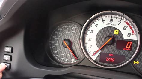 Shift Indicator Light Not Working by Scion Fr S How To Set The Shift Light Gear Indicator