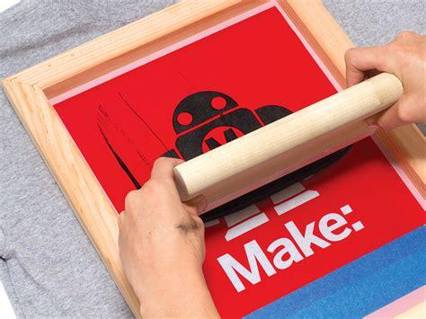 simple silk screen printing   vinyl cutter