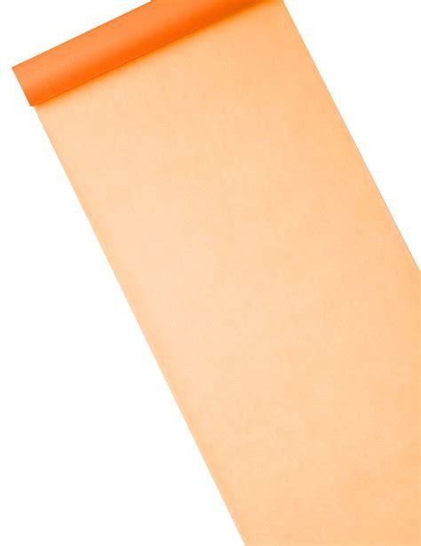 chemin de table intisse chemin de table intiss 233 uni orange 10 m d 233 coration anniversaire et f 234 tes 224 th 232 me sur vegaoo