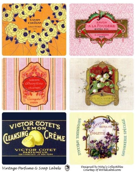1000 Images About Soap Labels And Soap Label Templates On Pinterest Vintage Soap Packaging Perfume Label Design Templates