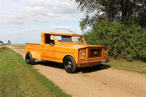 truck ford custom built all wood ford pickup truck
