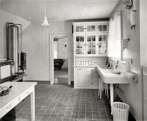 1920s Kitchens | laurelhurst craftsman bungalow period kitchen photographs