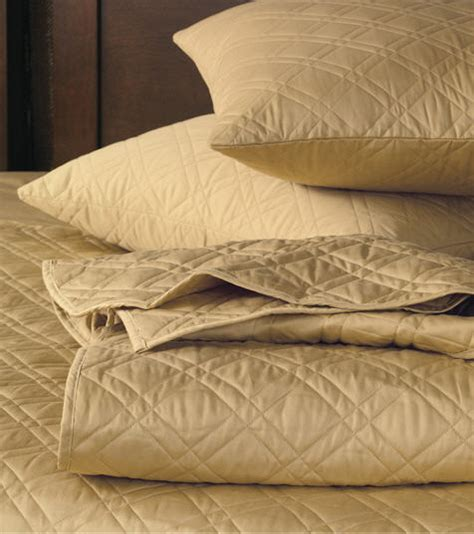 gold quilted coverlet lightweight quilted bedding with diamond pattern de