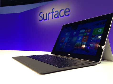 on with the microsoft surface 2 and surface pro 2