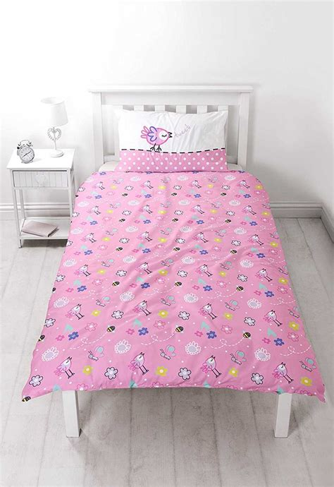 Peppa Pig Bed Quilt Cover by Peppa Pig Happy Reversible Panel Single Bed Duvet Quilt