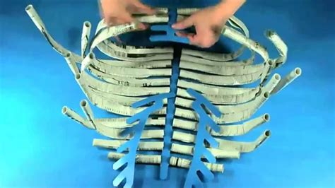 How To Make A Human Skeleton Out Of Paper - roylco r60558 newspaper skeleton