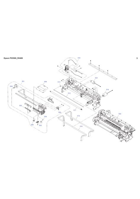 Epson Stylusphoto R2400 Parts Manual
