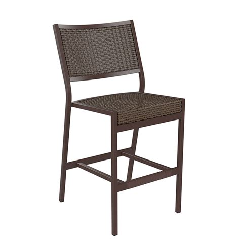 Woven Counter Height Stools by Cabana Club Woven Armless Counter Height Stool Tropitone