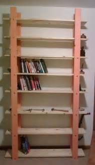 Easy Bookshelves Furniture Small Minimalist Pink Wooden Diy Style