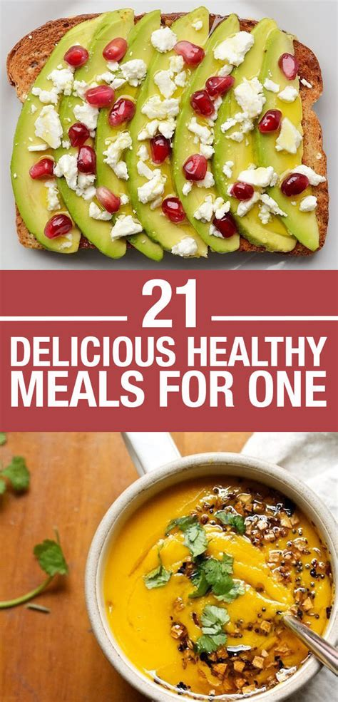 21 easy and healthy meals for one pharmacypedia