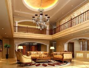 Villa Interiors The Living Room Luxury 3d House Free 3d House Pictures