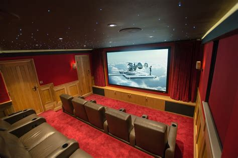 home cinema with bespoke fortress seating finite solutions