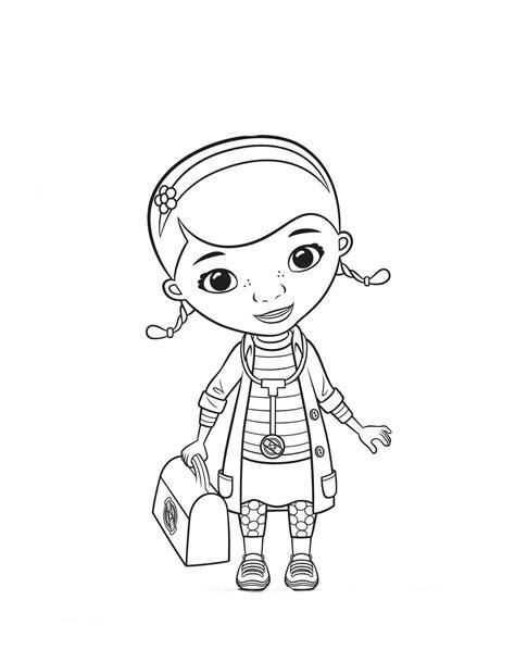 doutora brinquedos desenho para colorir   Dr brinquedos