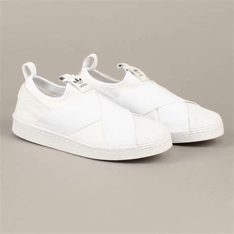 Adidas Superstar Slip On Mesh White adidas superstar slip on white le fix sneaker store