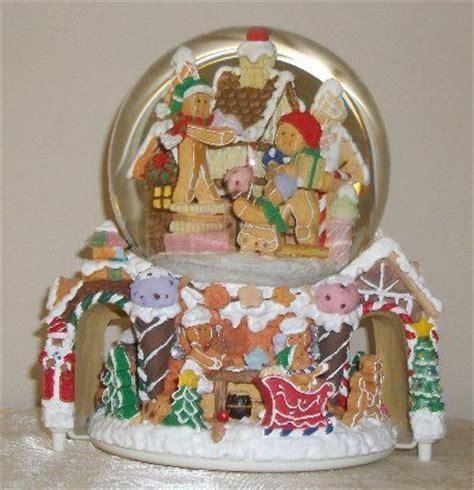 gingerbread snow globe musical gingerbread decor more