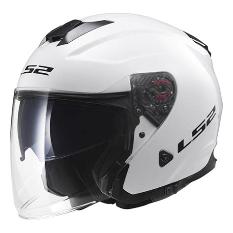 Helm Ls2 Infinity Solid Gloss White Of521 jual helm ls2 of521 infinity solid gloss white