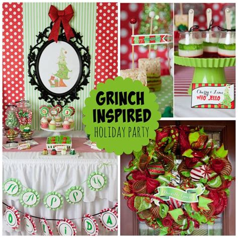grinch christmas party props grinch inspired grinch holidays and grinch