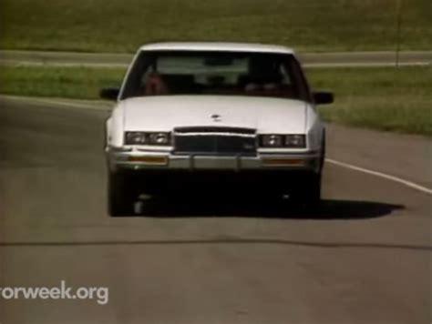 1986 buick riviera t type imcdb org 1986 buick riviera t type in quot motorweek 1981 2017 quot