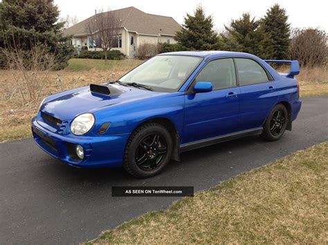 2002 Subaru Impreza Wrx Sti Related Infomation