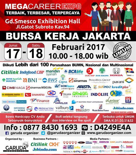 jadwal fair bursa kerja jakarta 2017 jadwal2