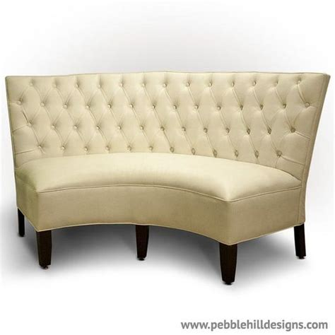 curved upholstered banquette nooks banquettes and settees on pinterest